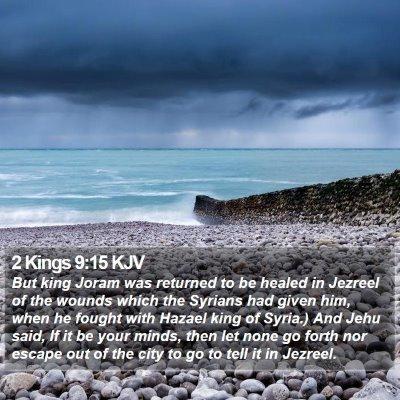 2 Kings 9:15 KJV Bible Verse Image