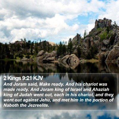 2 Kings 9:21 KJV Bible Verse Image