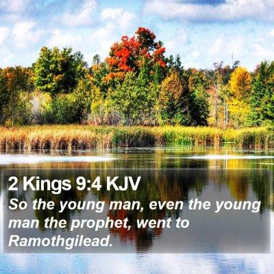 2 Kings 9:4 KJV Bible Verse Image