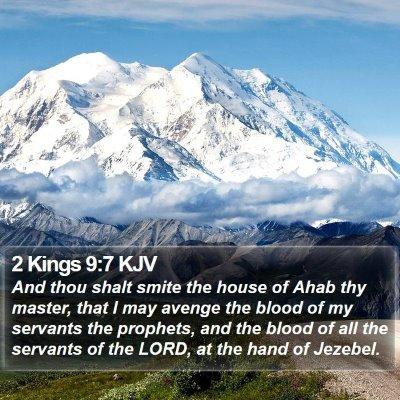 2 Kings 9:7 KJV Bible Verse Image