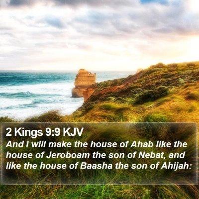 2 Kings 9:9 KJV Bible Verse Image