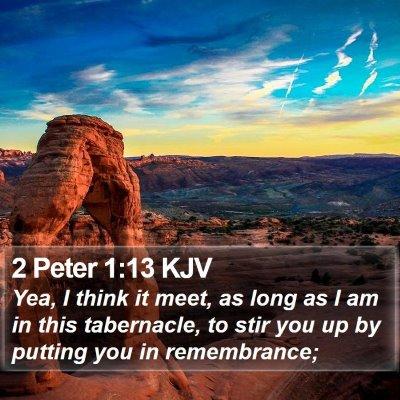 2 Peter 1:13 KJV Bible Verse Image