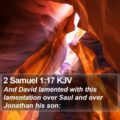 2 Samuel 1:17 KJV Bible Verse Image
