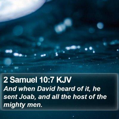2 Samuel 10:7 KJV Bible Verse Image
