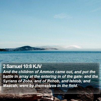 2 Samuel 10:8 KJV Bible Verse Image