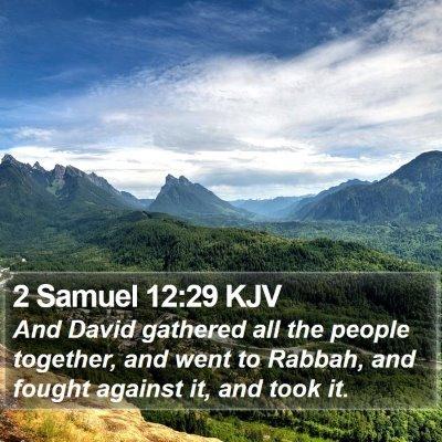 2 Samuel 12:29 KJV Bible Verse Image