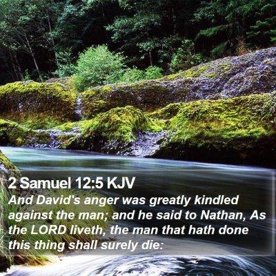 2 Samuel 12:5 KJV Bible Verse Image