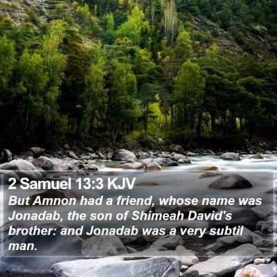 2 Samuel 13:3 KJV Bible Verse Image