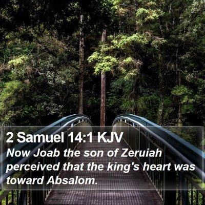 2 Samuel 14:1 KJV Bible Verse Image