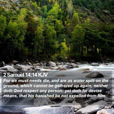 2 Samuel 14:14 KJV Bible Verse Image
