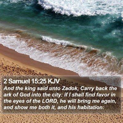 2 Samuel 15:25 KJV Bible Verse Image