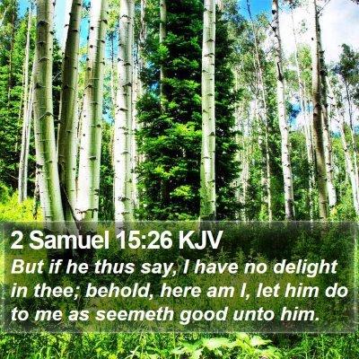 2 Samuel 15:26 KJV Bible Verse Image