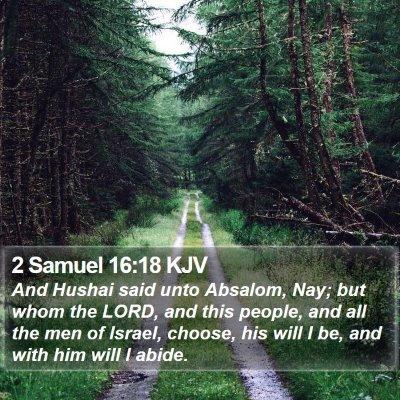 2 Samuel 16:18 KJV Bible Verse Image