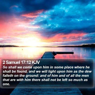 2 Samuel 17:12 KJV Bible Verse Image