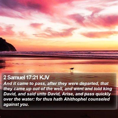 2 Samuel 17:21 KJV Bible Verse Image