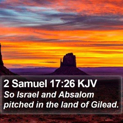 2 Samuel 17:26 KJV Bible Verse Image