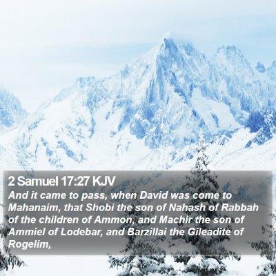 2 Samuel 17:27 KJV Bible Verse Image