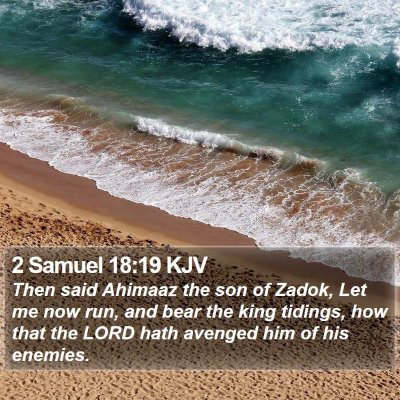 2 Samuel 18:19 KJV Bible Verse Image