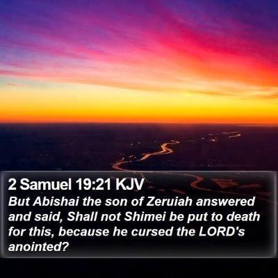 2 Samuel 19:21 KJV Bible Verse Image