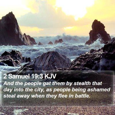 2 Samuel 19:3 KJV Bible Verse Image