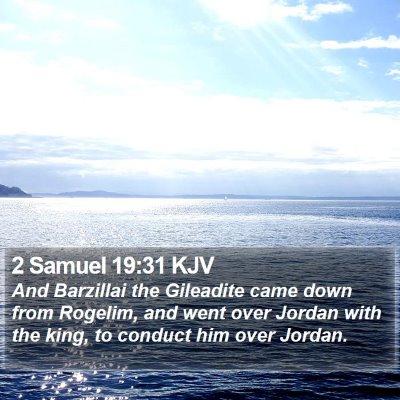 2 Samuel 19:31 KJV Bible Verse Image