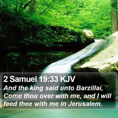 2 Samuel 19:33 KJV Bible Verse Image
