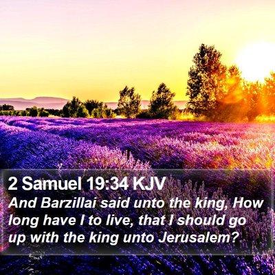 2 Samuel 19:34 KJV Bible Verse Image