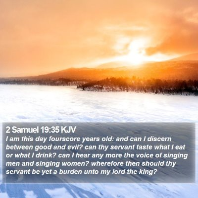2 Samuel 19:35 KJV Bible Verse Image