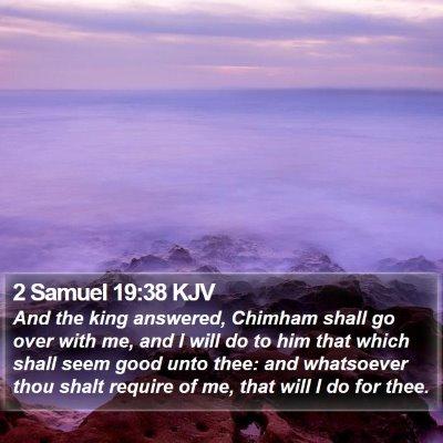 2 Samuel 19:38 KJV Bible Verse Image