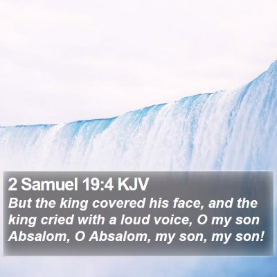 2 Samuel 19:4 KJV Bible Verse Image