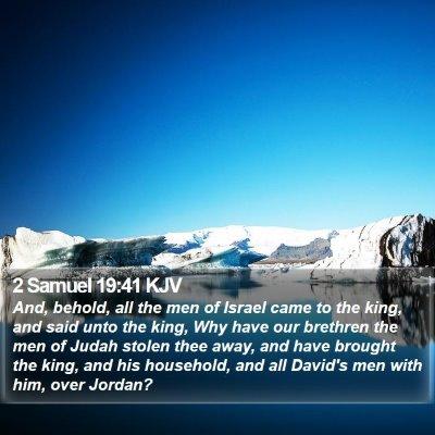 2 Samuel 19:41 KJV Bible Verse Image