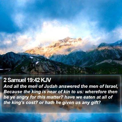 2 Samuel 19:42 KJV Bible Verse Image