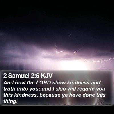 2 Samuel 2:6 KJV Bible Verse Image