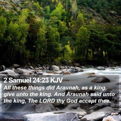 2 Samuel 24:23 KJV Bible Verse Image