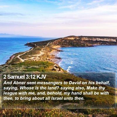 2 Samuel 3:12 KJV Bible Verse Image
