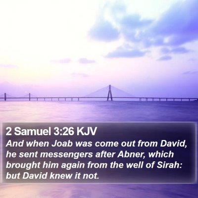 2 Samuel 3:26 KJV Bible Verse Image