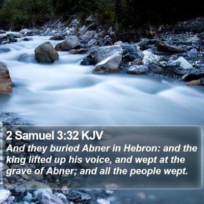 2 Samuel 3:32 KJV Bible Verse Image