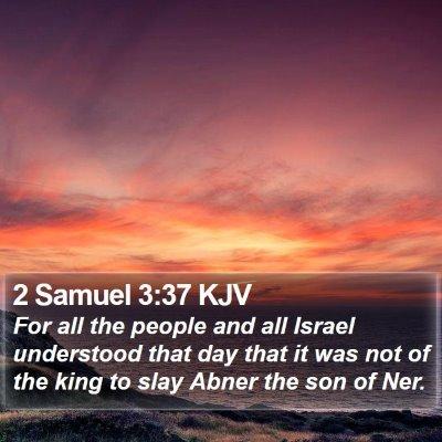 2 Samuel 3:37 KJV Bible Verse Image