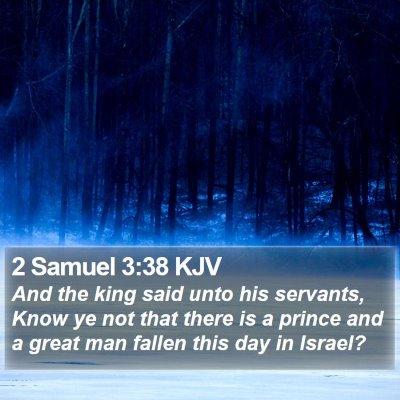 2 Samuel 3:38 KJV Bible Verse Image