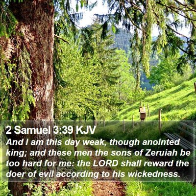 2 Samuel 3:39 KJV Bible Verse Image