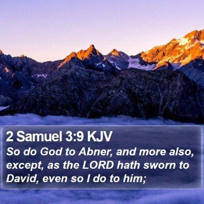 2 Samuel 3:9 KJV Bible Verse Image