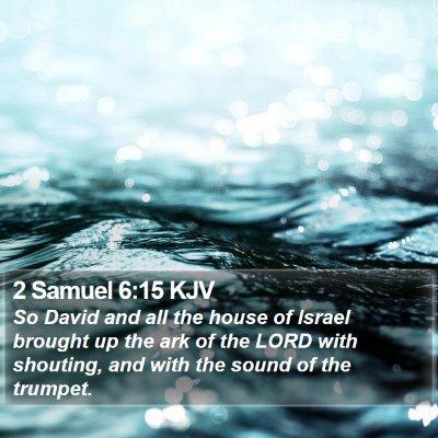 2 Samuel 6:15 KJV Bible Verse Image