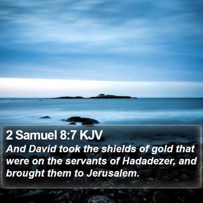 2 Samuel 8:7 KJV Bible Verse Image