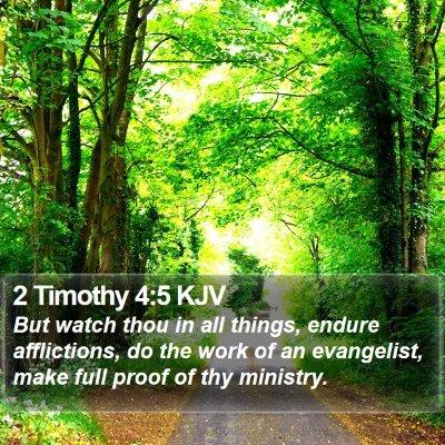 2 Timothy 4:5 KJV Bible Verse Image