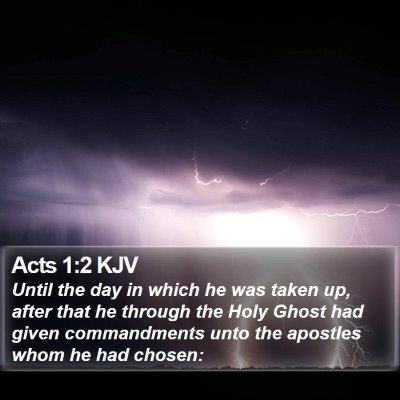 Acts 1:2 KJV Bible Verse Image