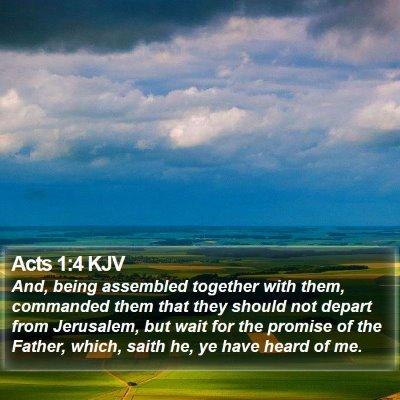 Acts 1:4 KJV Bible Verse Image
