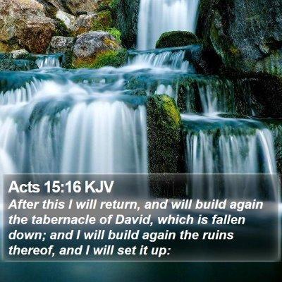 Acts 15:16 KJV Bible Verse Image