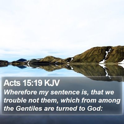 Acts 15:19 KJV Bible Verse Image