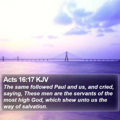 Acts 16:17 KJV Bible Verse Image