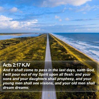 Acts 2:17 KJV Bible Verse Image